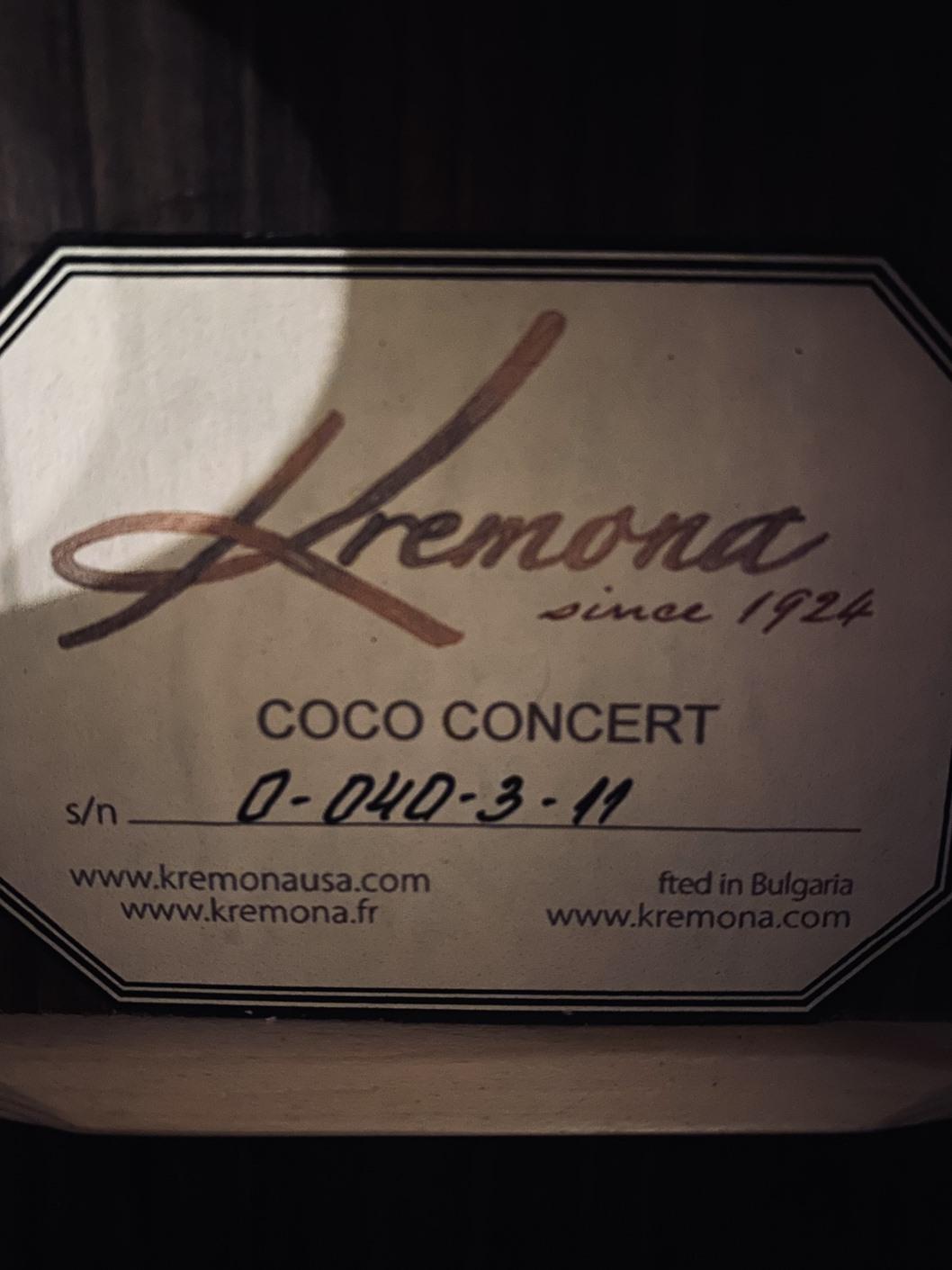 【Kremona】COCO コンサートサイズ