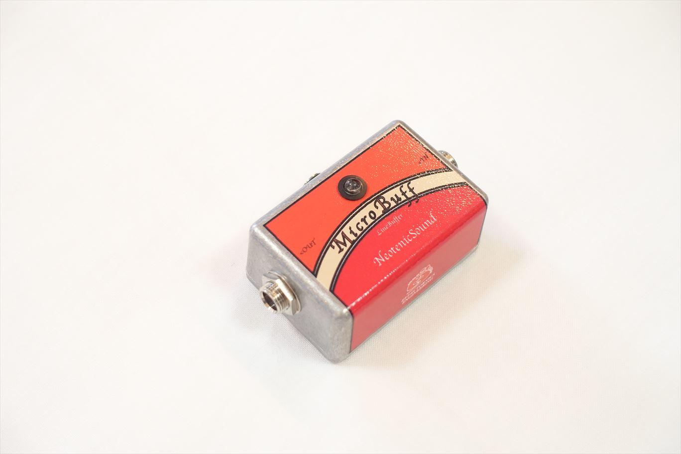 【エフェクターを何個かつなげた時の音を綺麗に!】Neotenic Sound : Micro Buff (バッファ)