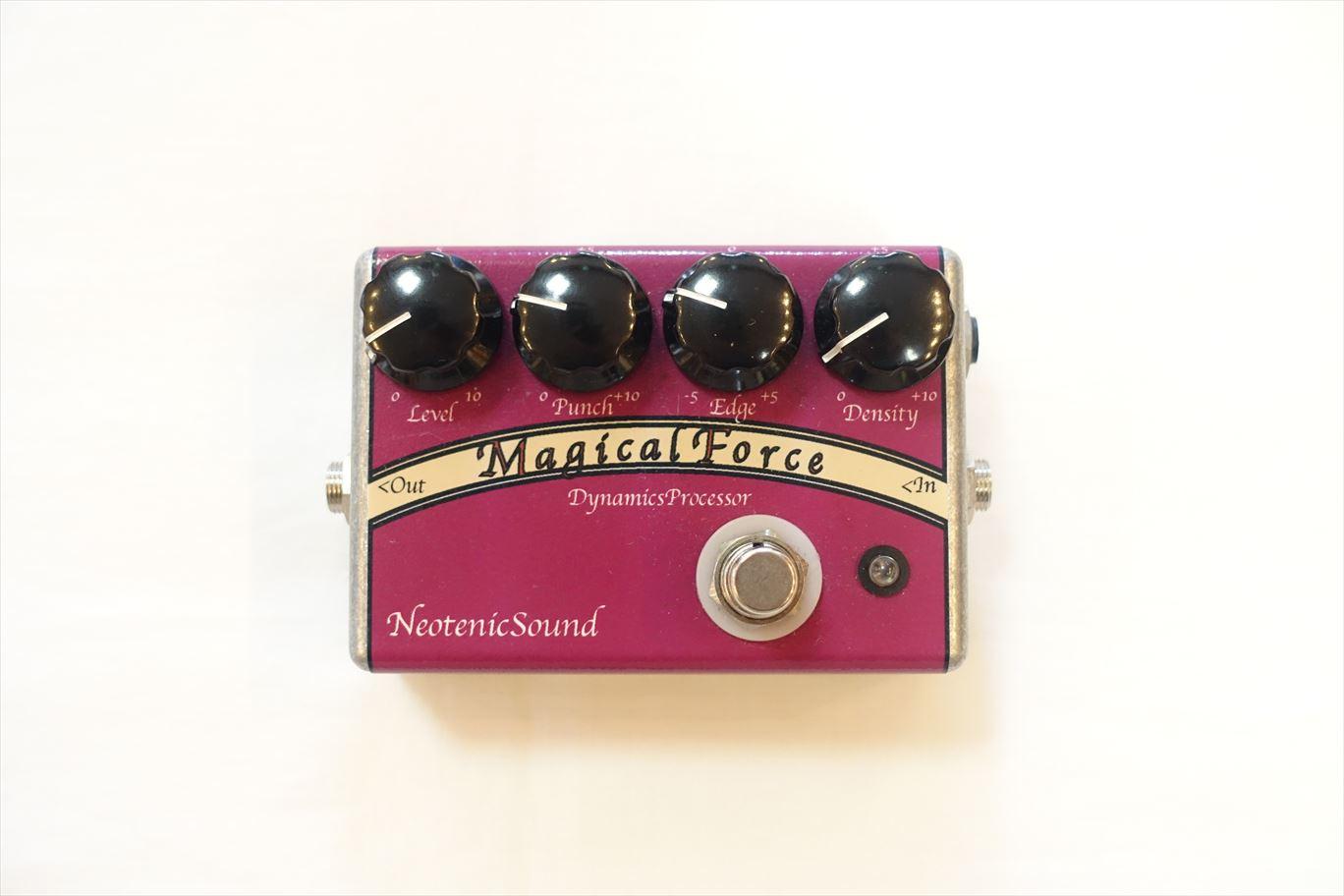 【迫力増強系エフェクター】Neotenic Sound : Magical Force