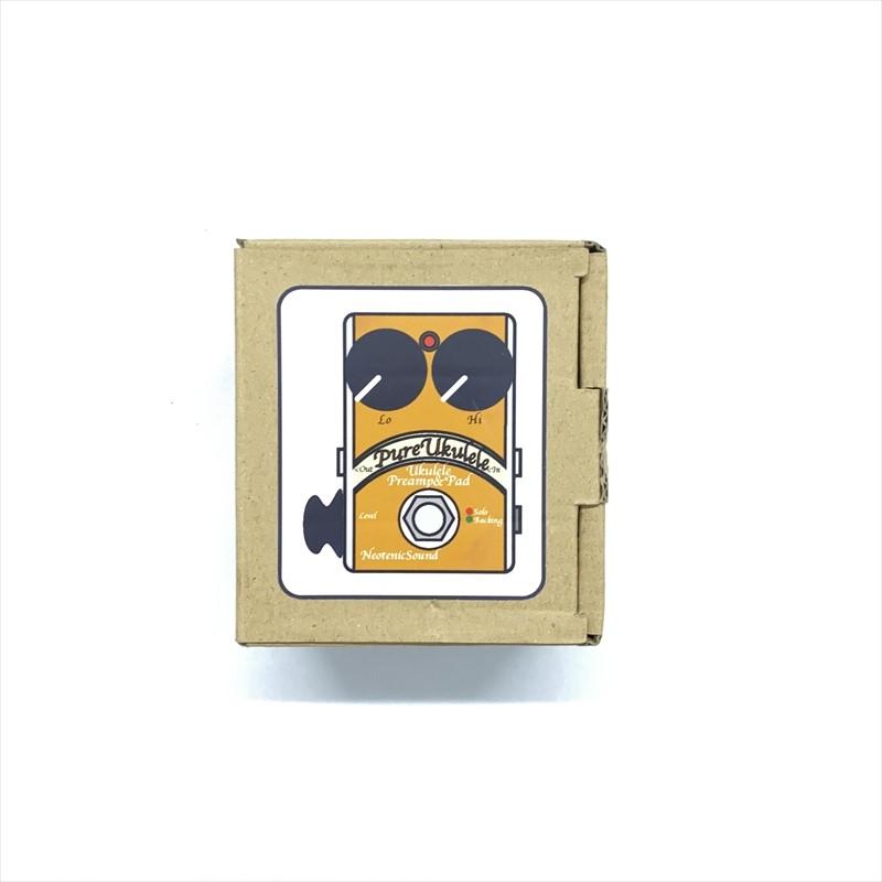 【ウクレレ用プリアンプ/ピュアパッド付き】Neotenic Sound :Pure Ukulele with Pure Pad