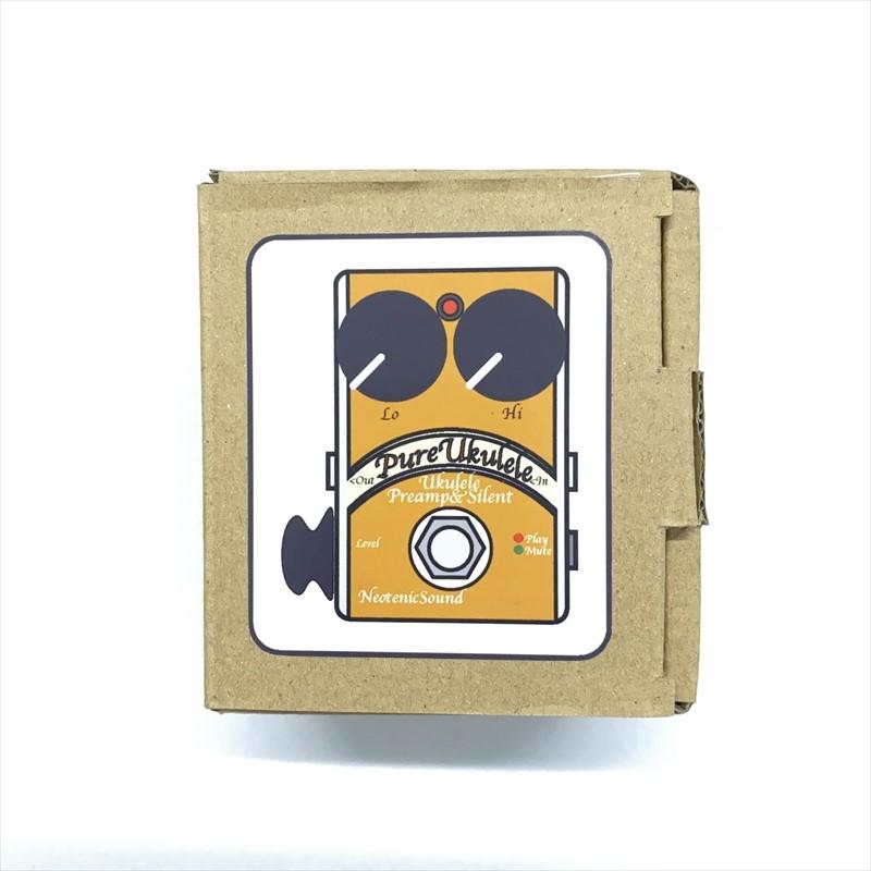 【ウクレレ用プリアンプ】Neotenic Sound :PureUkulele Preamp & Silent