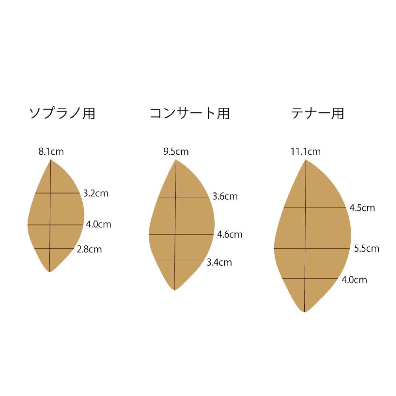 【KIWAYAオリジナル】アカシア材 ピックガード(3種×3サイズ)※ネコポス可
