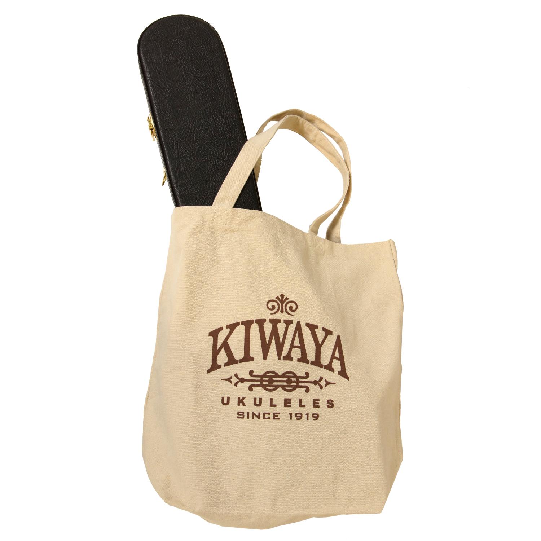 【KIWAYA】オリジナル トートバッグ (テナーサイズまで入る♪)