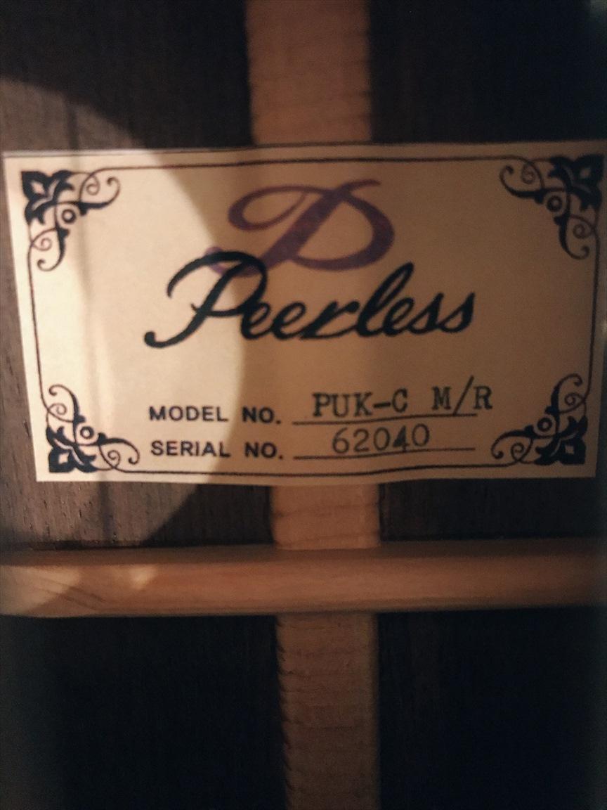【Peerless】PUK-C M/R NATURAL #62040 コンサートサイズ