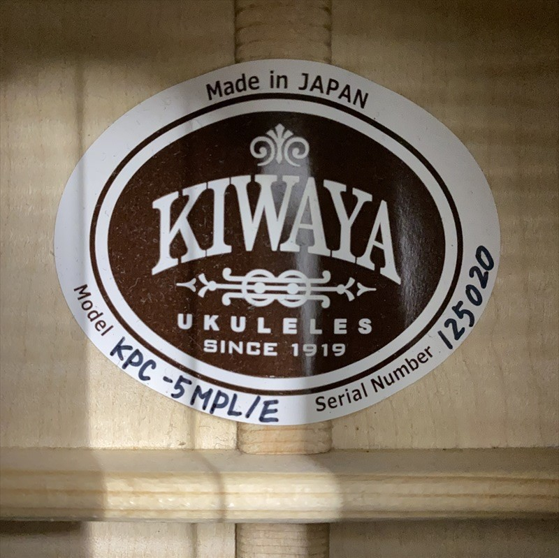 【KIWAYA】KPC-5MPL/E #235020 コンサートサイズ