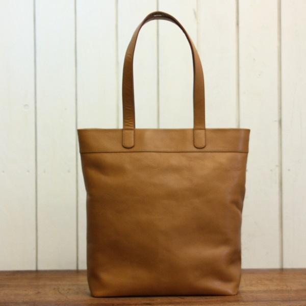 牛革シンプル縦型トートバッグ【DEP104】