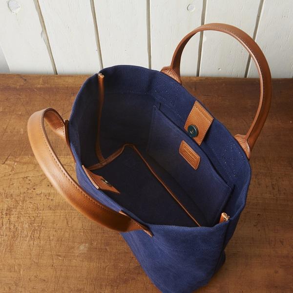 帆布×牛革ランチトートバッグ【SA205】