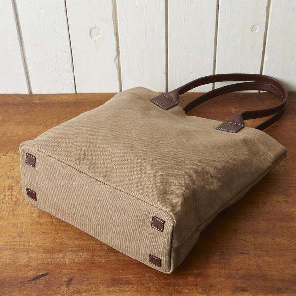帆布×牛革縦型トートバッグ【SA203】