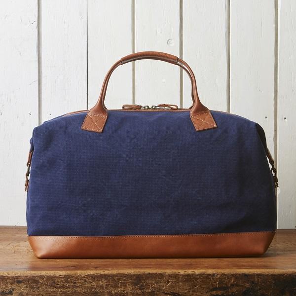 帆布×牛革2wayボストンバッグ【SA202】