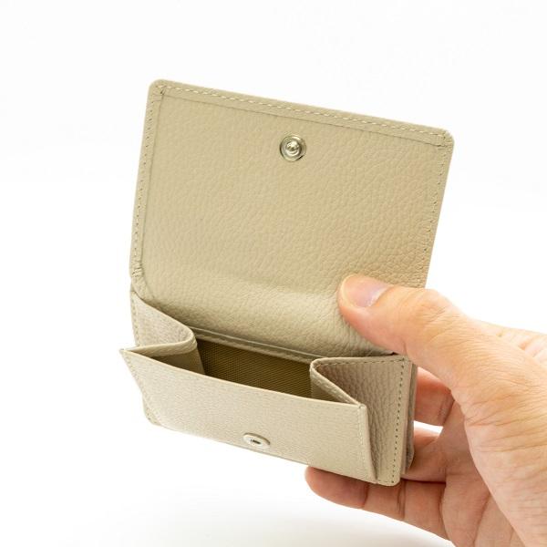 牛革ミニウォレット<三つ折りミニ財布>【SK003】