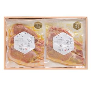 【お歳暮2020】雪室熟成豚ロース 味噌漬/6枚セット<冷凍便>