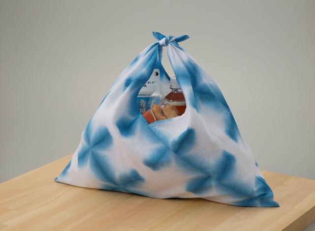 和風エコバッグにもなる 伝統工芸有松絞りハンカチ