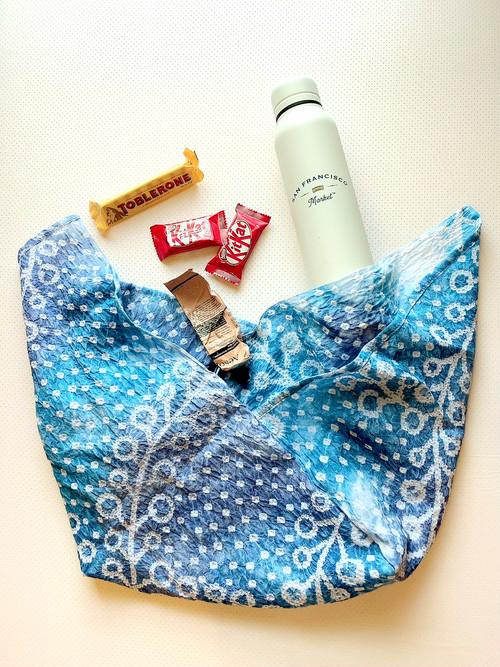 有松絞り夏用マスク&あずま袋セット