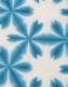 オーガニックコットン 有松絞り手ぬぐい 雪花絞り 青 サステイナブル