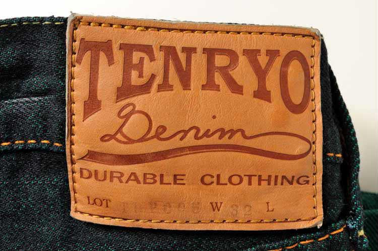 TDP005 倉敷天領デニムTENRYO DENIM カラーレボリューション スタイリッシュストレートジーンズ