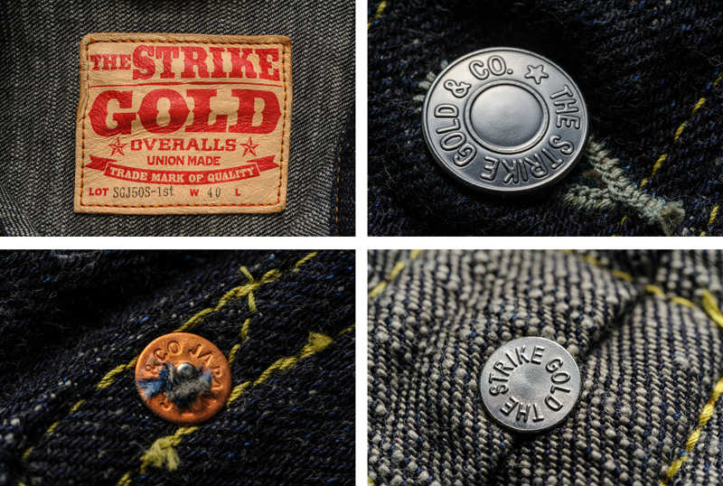 【SGJ50S-1st】 ストライクゴールド The Strike Gold 50S 1st-type デニムジャケット DENIM JACKET Gジャン