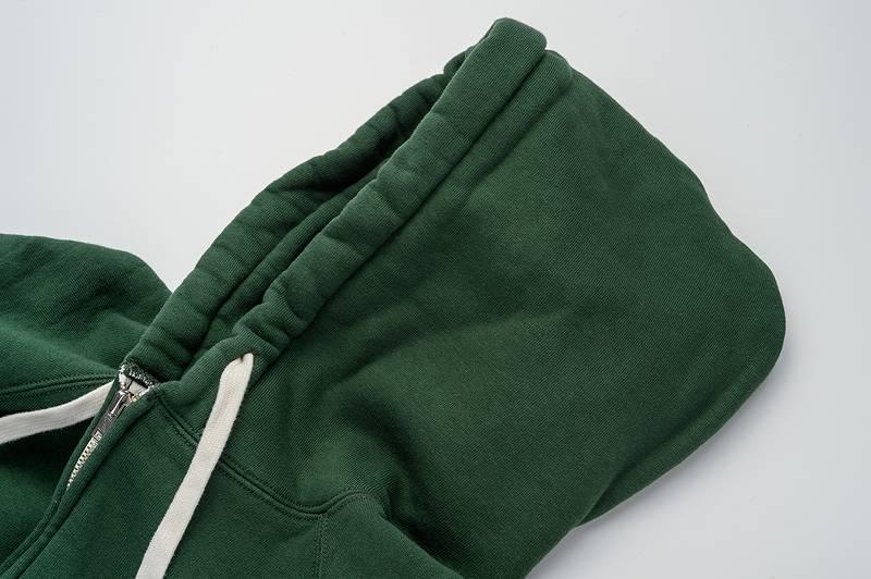 【SGC004】 The Strike Gold ストライクゴールド LoopWheel FullZip SweatParka 吊り編みフルZIPスウェットパーカー プレーン