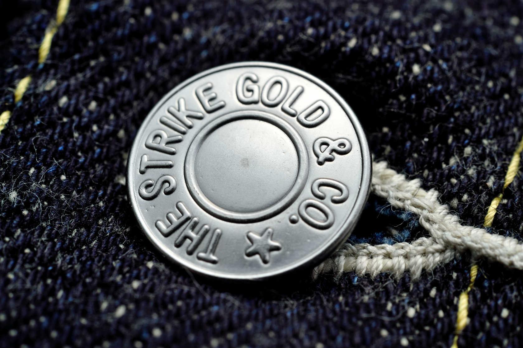 【SGJ50S】 The Strike Gold ストライクゴールド デニムジャケットDENIM JACKET Gジャン