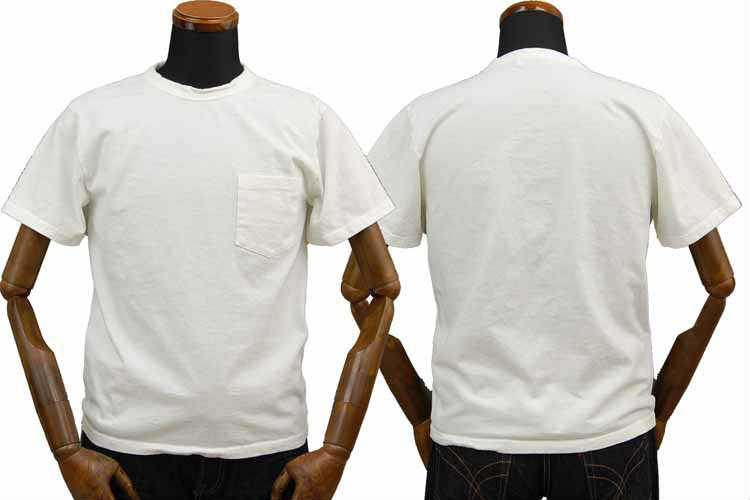 【SGT2007】 ストライクゴールド THE STRIKEGOLD オリジナル吊り編み ポケット付きTシャツ