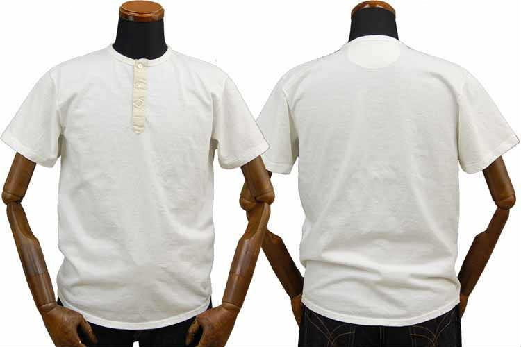 【SGT2008】 ストライクゴールド THE STRIKEGOLD オリジナル吊り編み ヘンリーネックTシャツ