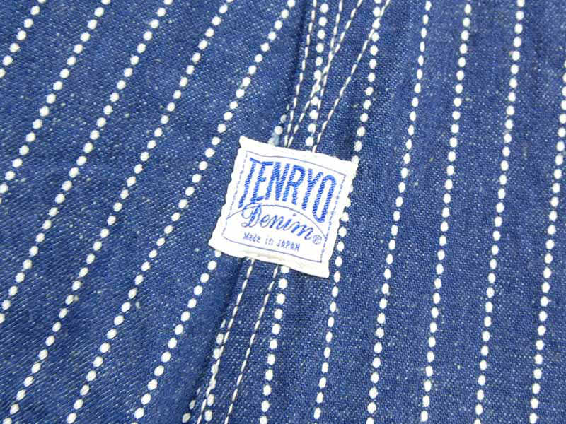 【TDP2001】 倉敷天領デニム TENRYO DENIM オリジナルウォバッシュオーバーオール OVERALL