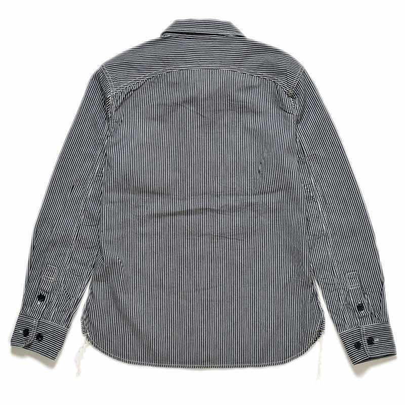 【SGS2002】 ストライクゴールド The Strike Gold ヒッコリーワークシャツ HICKORY WORK SHIRTS
