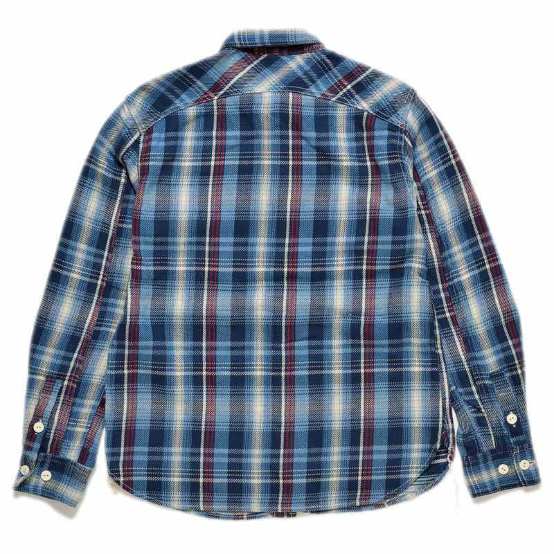 【SGS2003】 ストライクゴールド THE STRIKE GOLD ルーズネルチェックワークシャツ LOOSE NEL CHECK WORK SHIRTS