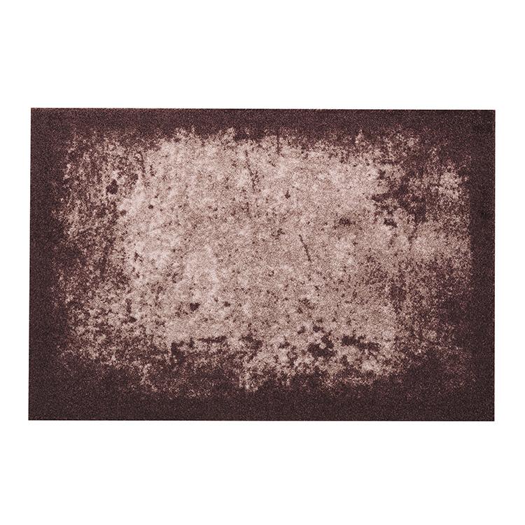 玄関マット wash+dry(ウォッシュ アンド ドライ) Shades of Brown  50  x  75  cm
