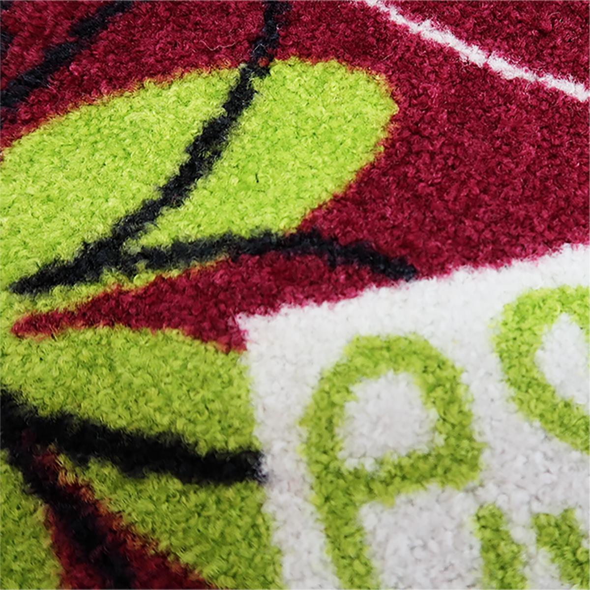 玄関マット wash+dry(ウォッシュ アンド ドライ) La vie est belle 50×75cm