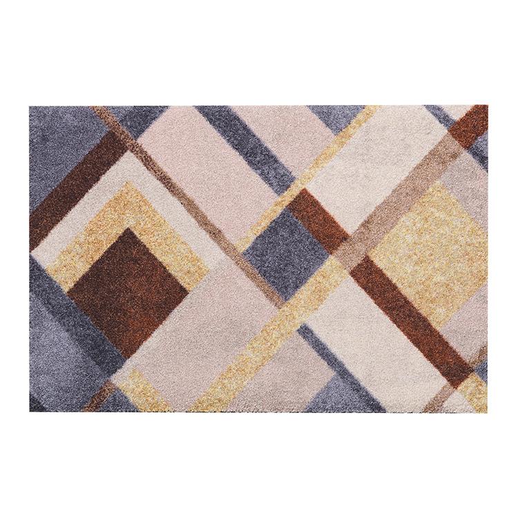 玄関マット wash+dry(ウォッシュ アンド ドライ) Art Deco 50×75cm