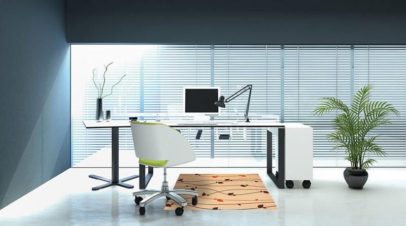 【受注生産】玄関マット オフィス用マット Office & Decor Brun / ブラン 90×180cm