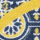 玄関マット wash+dry(ウォッシュ アンド ドライ) Round Azulejo 50×85cm
