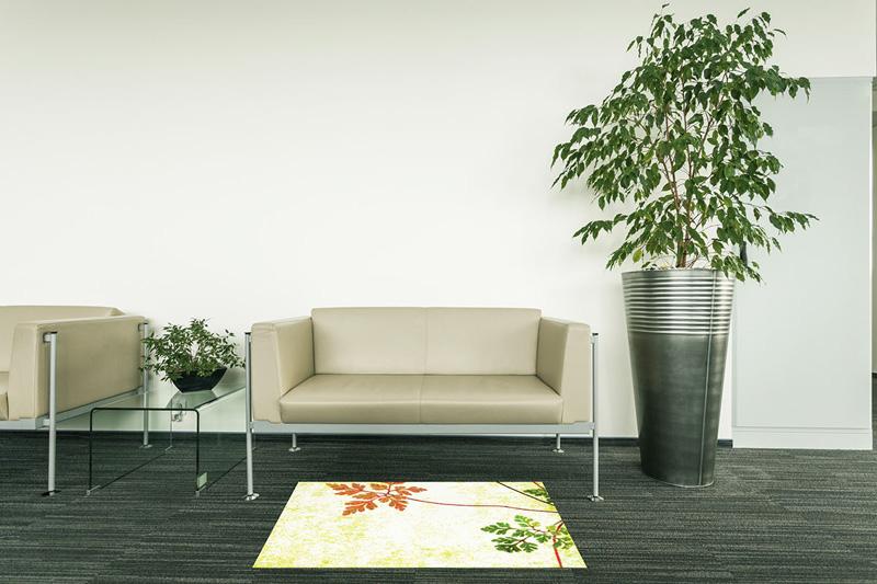 【受注生産】玄関マット オフィス用マット Office & Decor Wild Flower / ワイルドフラワー 120×160cm