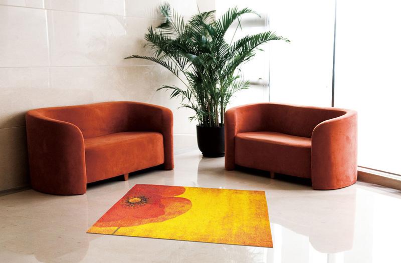 【受注生産】玄関マット オフィス用マット Office & Decor Poppy / ポピー 145×200cm
