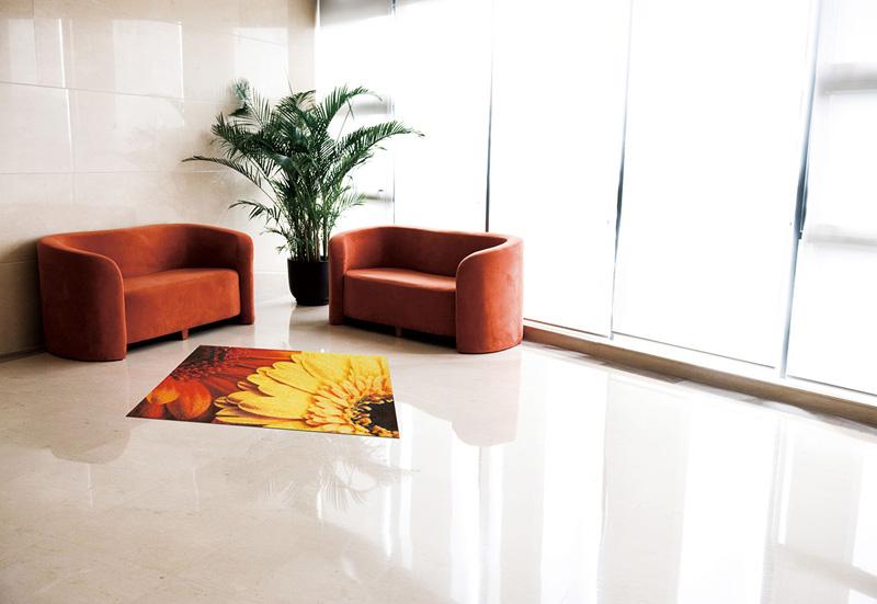 玄関マット オフィス用マット Office & Decor Gerbera / ガーベラ  120×160cm