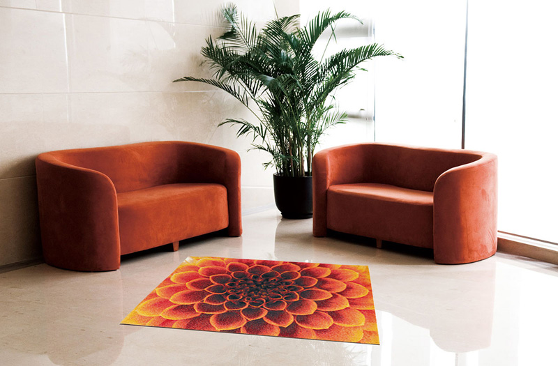 玄関マット オフィス用マット Office & Decor Dahlia / ダリア  120×160cm