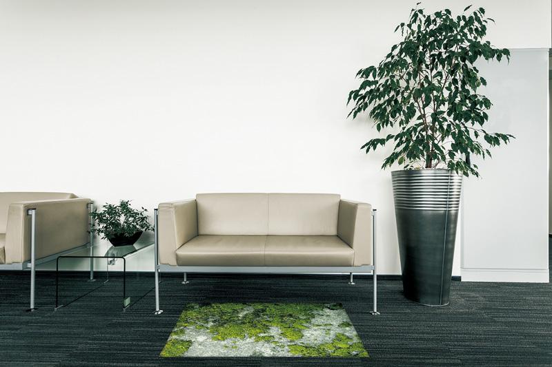 【受注生産】玄関マット オフィス用マット Office & Decor Mosstone / モストーン  120×160cm