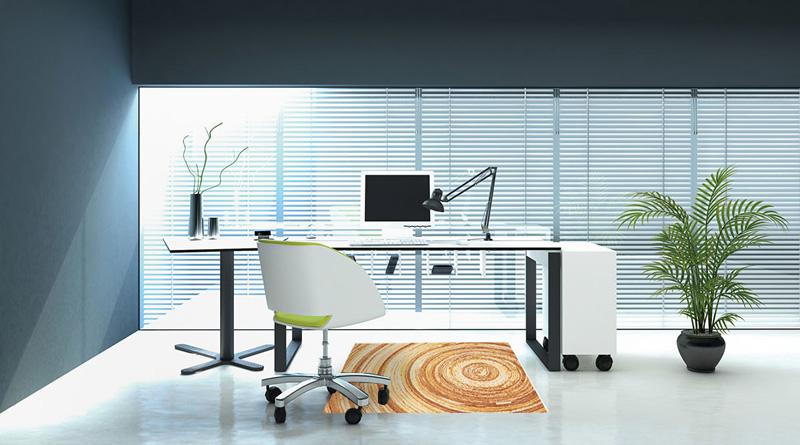 玄関マット オフィス用マット Office & Decor Annual Ring / アニュアルリング 120×160cm