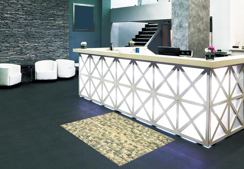 玄関マット オフィス用マット Office & Decor Brick Wall / ブリックウォール 120×160cm