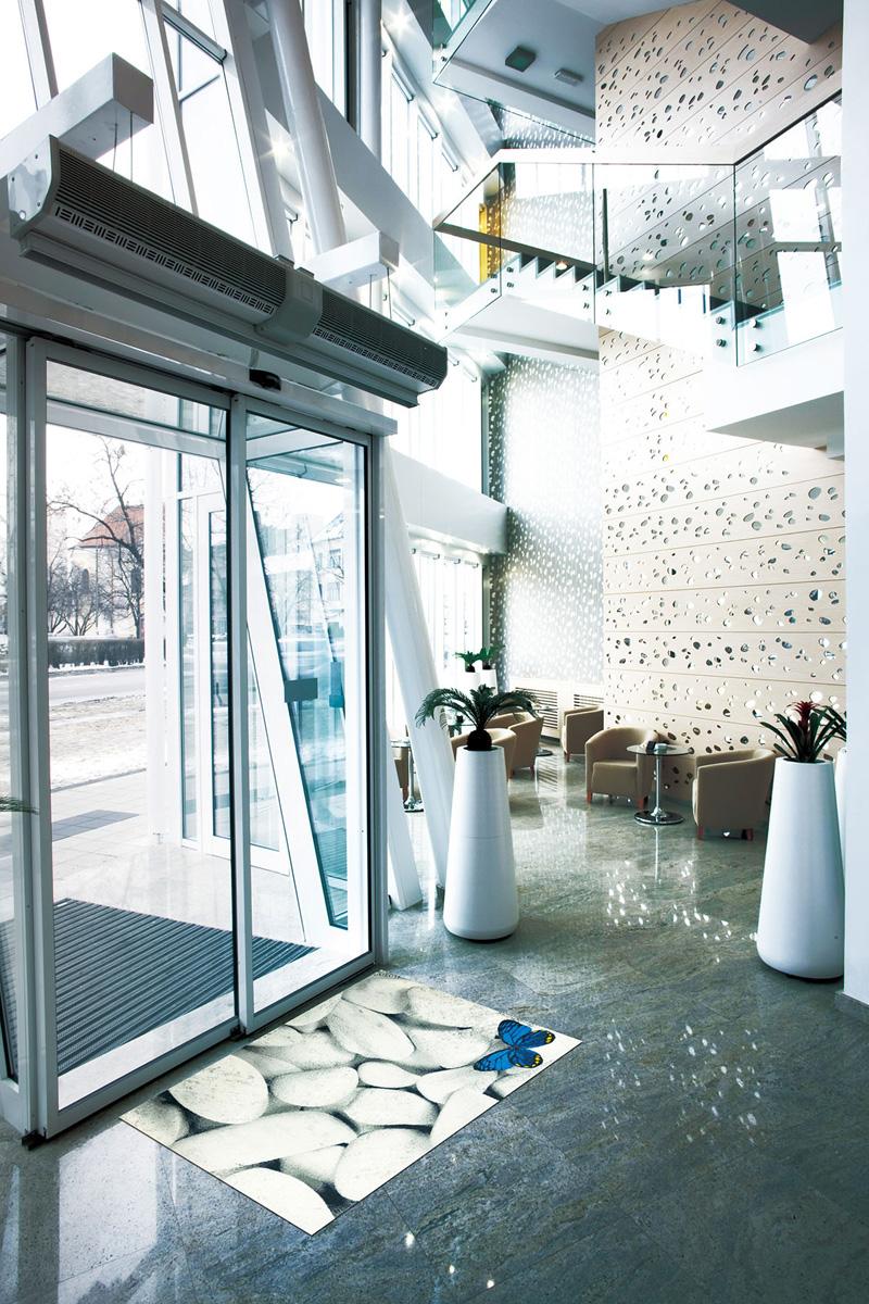 【受注生産】玄関マット オフィス用マット Office & Decor Butterfly / バタフライ 120×160cm