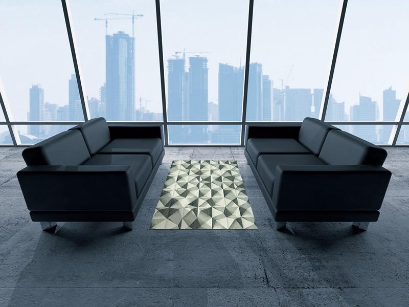 【受注生産】玄関マット オフィス用マット Office & Decor Pyramid / ピラミッド 120×160cm