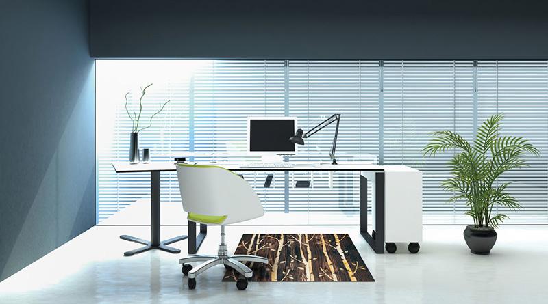 【受注生産】玄関マット オフィス用マット Office & Decor Birch / バーチ  120×160cm