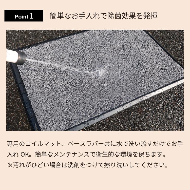 除菌マット635 x 880 mm (専用除菌剤4本入りのみ)