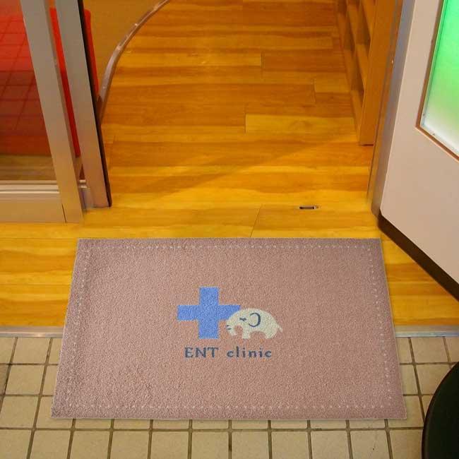 玄関マット ENT Clinic Beige 60×90cm