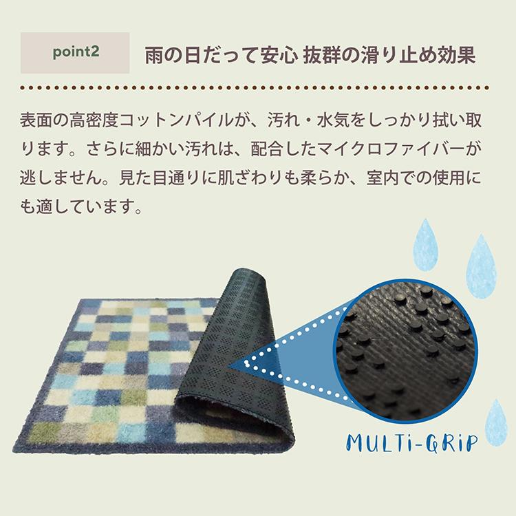 玄関マット Turtle Mat (タートルマット) Plain Seal 50×75cm