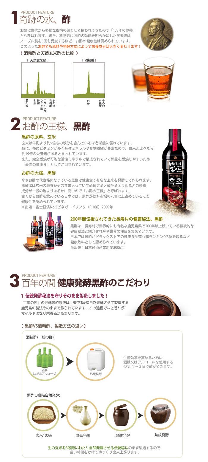 全5種類から選べる センピョ 黒酢 フッチョ 900ml×8本 お選びセット