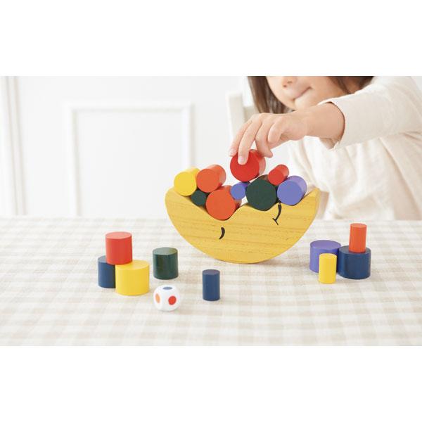 お月さまバランスゲーム 木のおもちゃ 木製玩具
