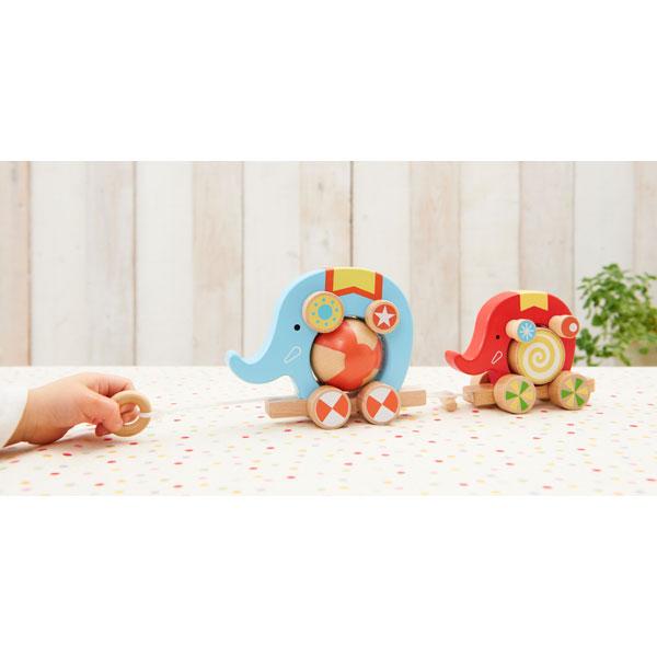 くるくるサーカス 木のおもちゃ 木製玩具