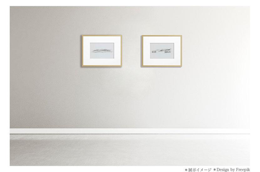 建築家 隈研吾 オリジナル版画「高輪ゲートウェイ/Takanawa」