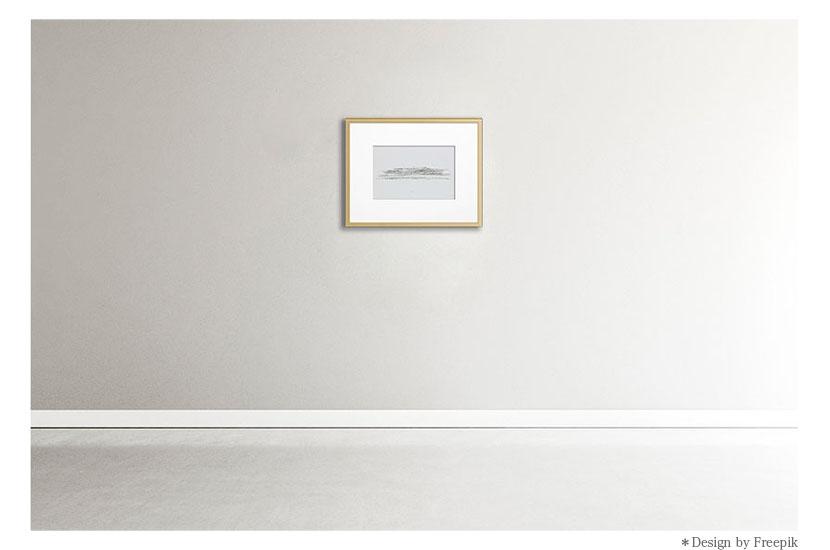 建築家 隈研吾作品 オリジナル版画「高輪ゲートウェイ/Takanawa」